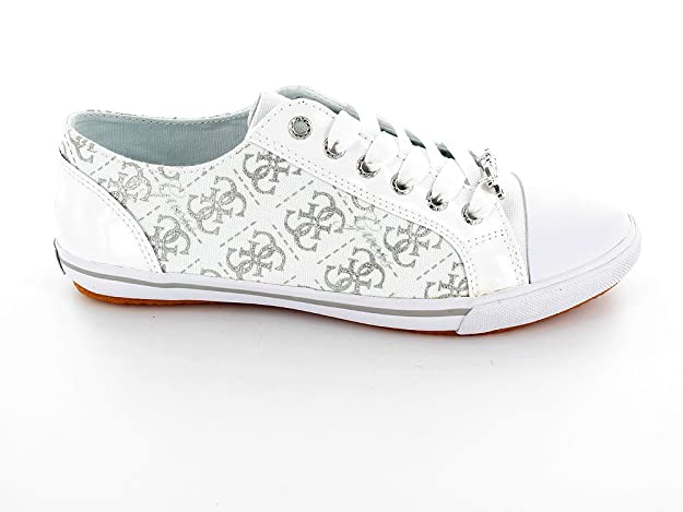 Guess Baskets Laverne Low Blanc Blanc Pointure 43