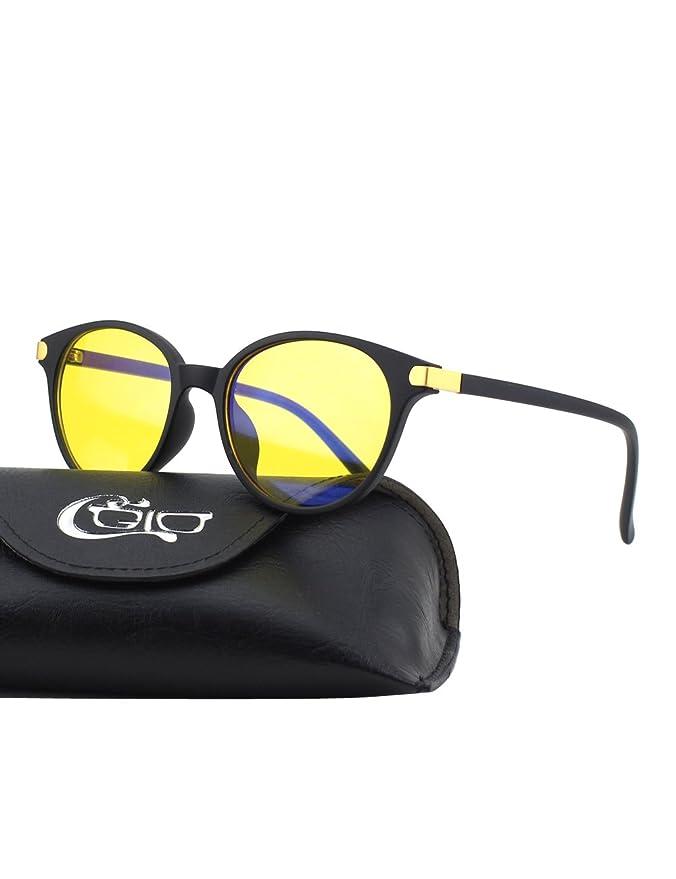 41 opinioni per CGID CY38 Premium Telaio TR90 Occhiali per Blocco Luce Azzurra,Anti Riflesso