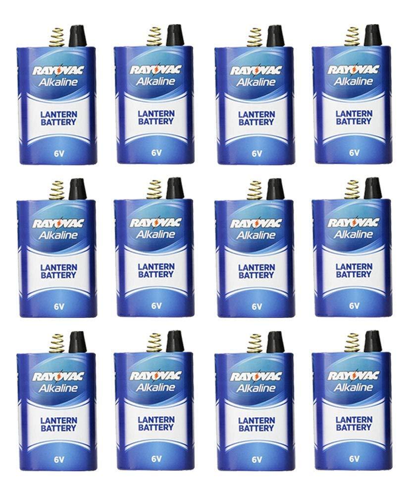 Rayovac Alkaline Lantern Batteries 6V Spring Terminal (30 Pack)