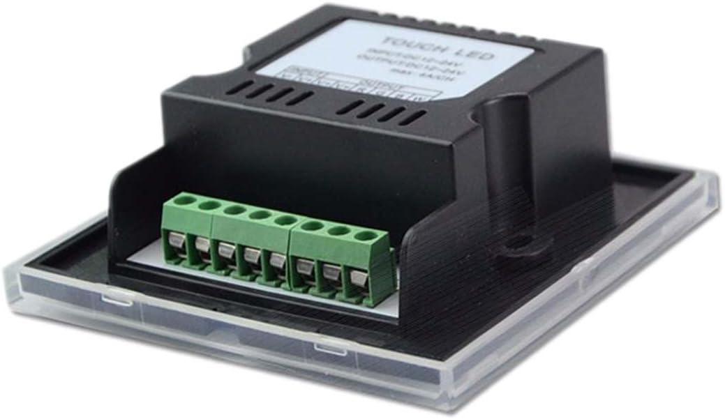 JOYLIT Touch Panel RGBW Controller 4 Kan/äle Fernbedienung DC 12V-24V 12A f/ür RGBW LED Streifen