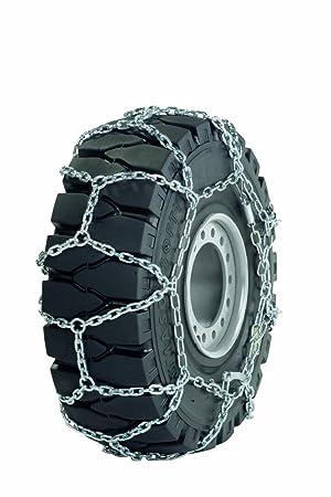 Ottinger 254028B - Cadenas de nieve para montacargas, tractores pequeños, vehículos especiales y de servicio (ruedas de 12,5 mm: 3.50-5): Amazon.es: Coche y ...
