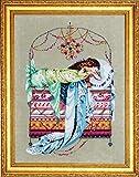 Mirabilia Cross Stitch Chart with Embellishment