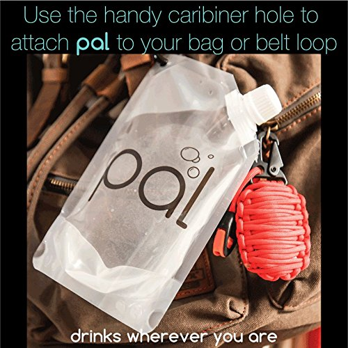 pal beverage flasks High Quality, Heavy Duty, Reusable, Collapsable Travel Flask, Cruise Booze, Drink Smuggler, Rum Runner, Wine, Cocktails, Liquor Bag/Pouch Kit, And Funnel (FDA approved, BPA free, food grade plastic)