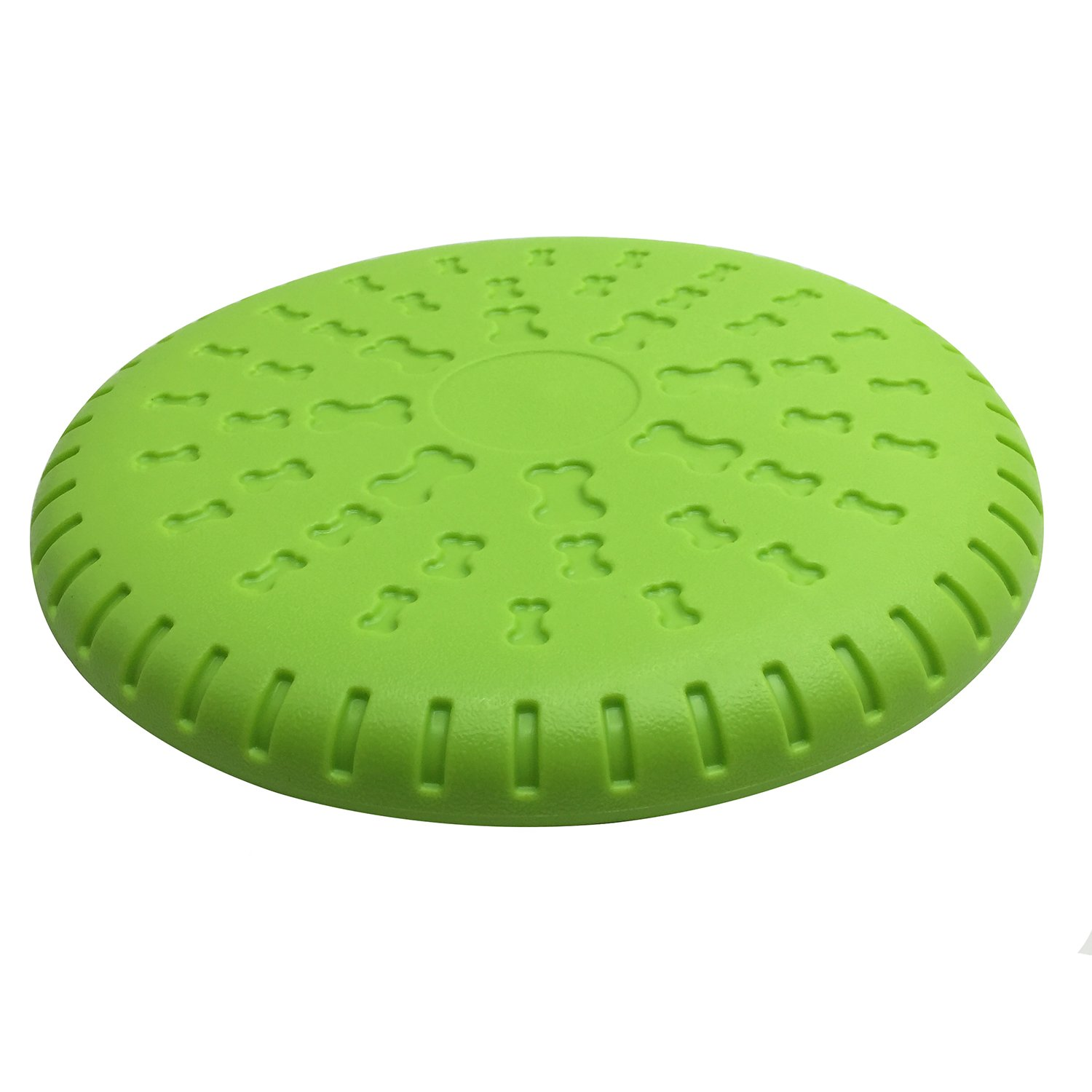 Pet Cuisine Dog Flying Disc Training Fetch Frisbee Outdoor Flyer Play Throw Dog Toy Chew Disk