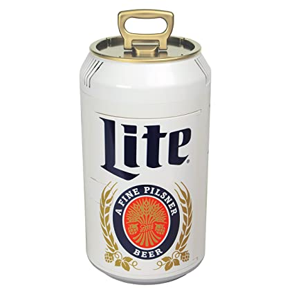 amazon com miller lite ml06 059586648014 can cooler silver