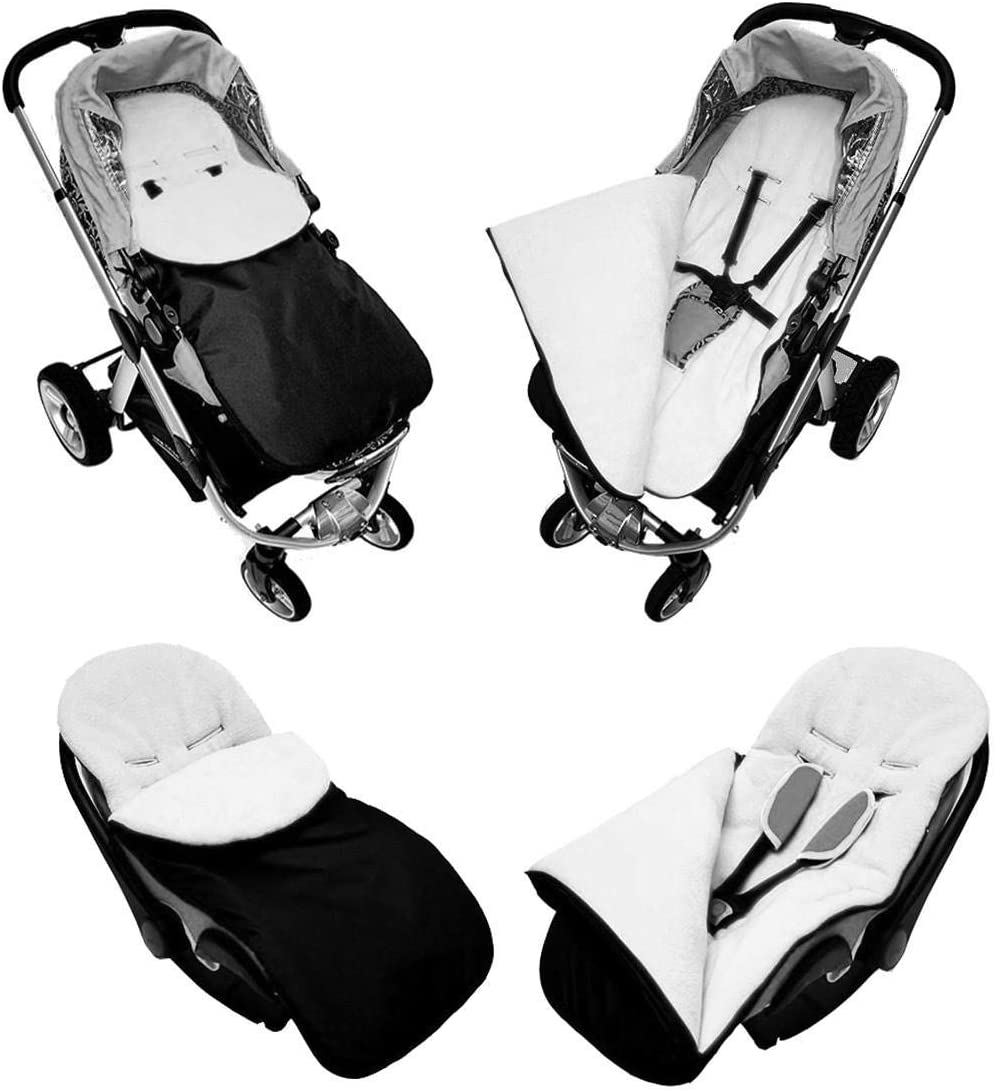 Wool Universal Baby Stroller cosytoes Liner Buggy Padded Luxury Footmuff P021