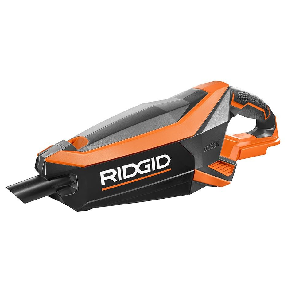 Ridgid Gen5X R86090B 18V Lithium Ion Cordless Handheld Brushless Wet / Dry Vacuum with Crevice Tool and Pre-Filter (Battery Not Included, Power Tool Only) by Ridgid