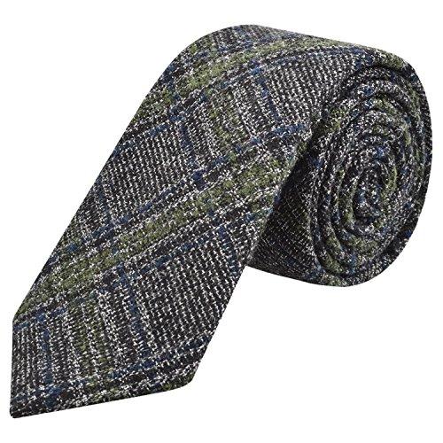 Mens Eco-friendly Handmade Cashmere Wool Tie Necktie 2.4Inch ( 6cm ), 02 Cashmere Wool Tie