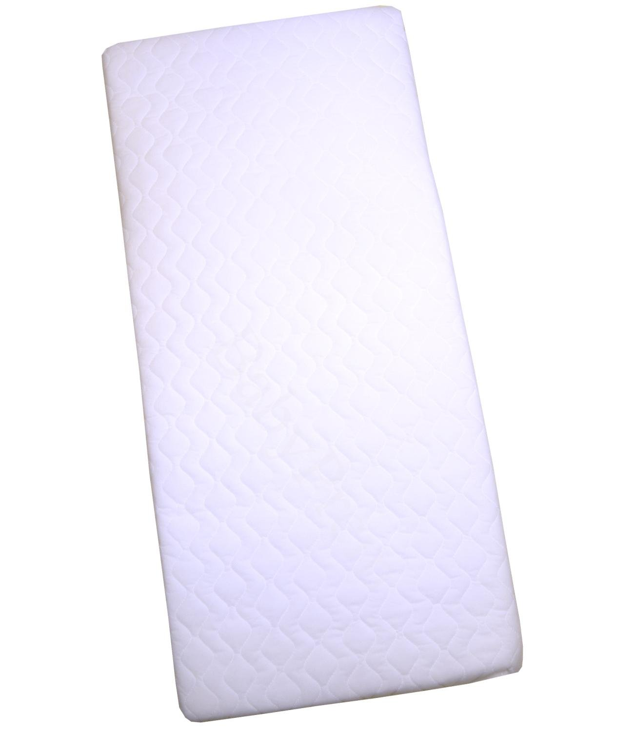 BabyPrem Cradle Mattress 35 x 16 x 1.5 Inches Quilted by BabyPrem