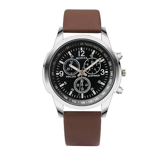 BBestseller Moda De Lujo Faux Leather Relojes De Cuarzo para ...
