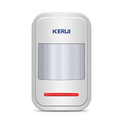 KERUI 433MHz Safety Driveway Patrol Infrared Wireless Intelligent PIR Motion Detector For GSM PSTN Home Security Alert Alarm System be notified of ...