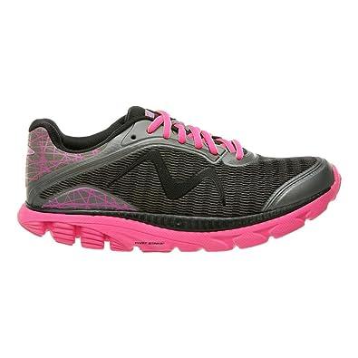 4cf751771d55 Amazon.com   MBT Women s Racer 18 Running Shoe Dark Grey Fuchsia Mesh    Running