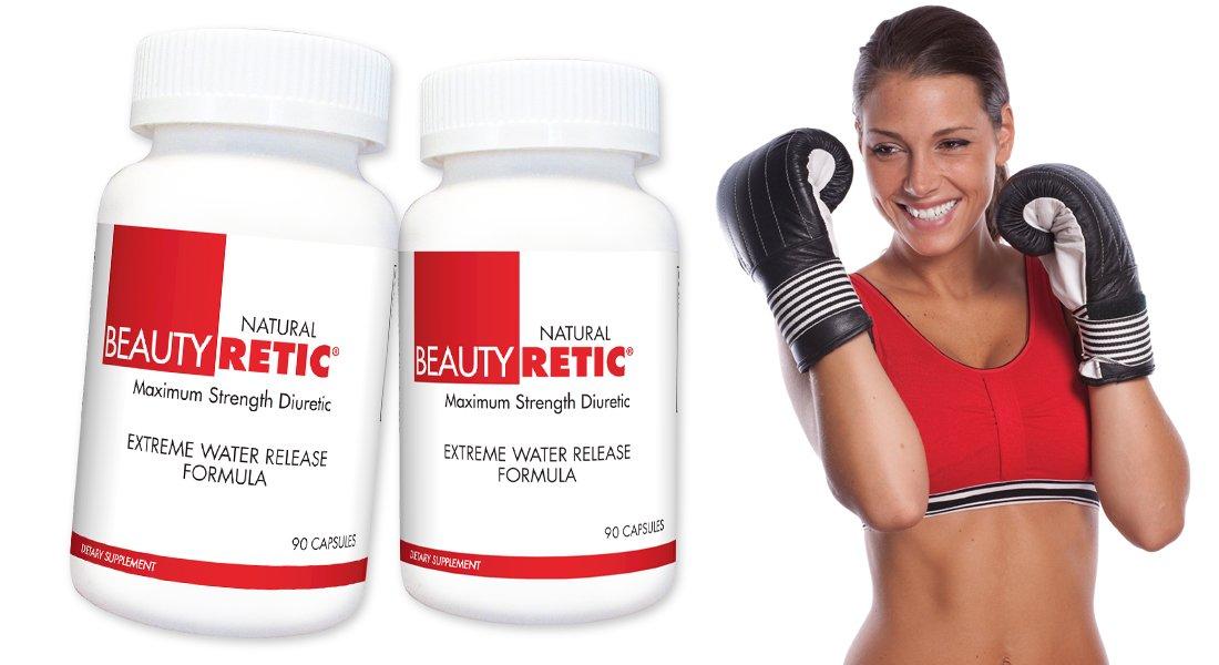 BeautyFit BeautyRetic, Maximum Strength Natural Diuretic for Women, 60 Capsules
