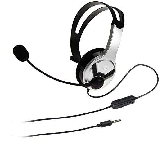 Amazonbasics Mono Chat Headset For Playstation 4 Officially