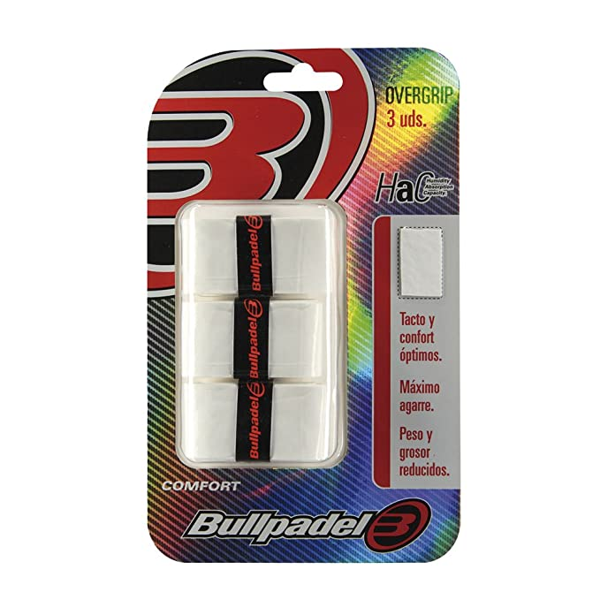 Bullpadel GB1200 - Pack de 3 overgrips: Amazon.es: Deportes y aire ...