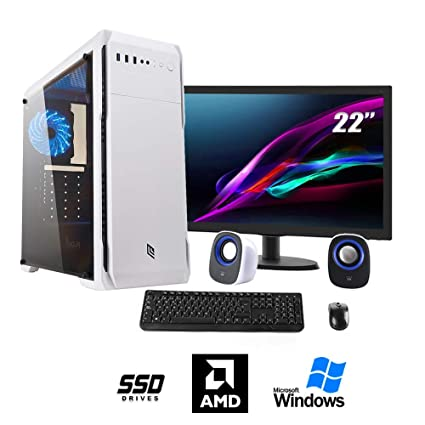 PC Desktop montado completo   Computer fijo A4 7300 4 GHz Turbo ...