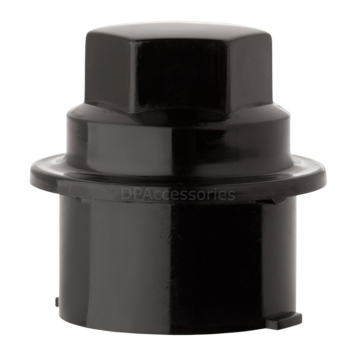 DPAccessories CC-3B-P-OBK05100 100 New Black Plastic Wheel Lug Nut Caps - Replaces GM 9593028/9593228 Wheel Lug Nut Cap