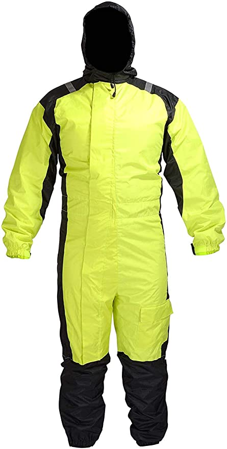 Amazon.com: Biker One Piece RN1-1, traje impermeable de ...