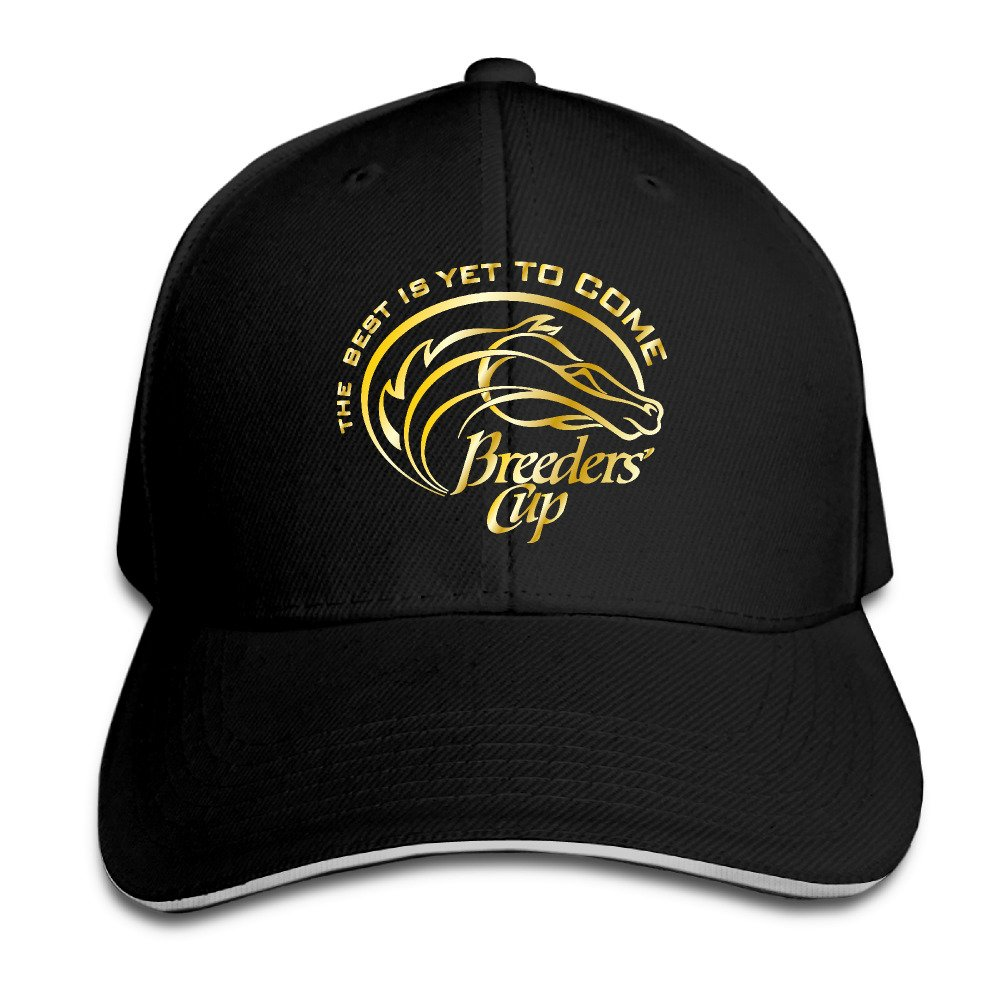 Chaera Adjustable The Best Is Yet Breeders' Cup Gold Adult Six-Panel Baseball Cap