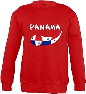 Supportershop 4Sweatshirt Panama 4Unisex Bambino, Rosso, Fr: S (Taglia Produttore: 4Anni)
