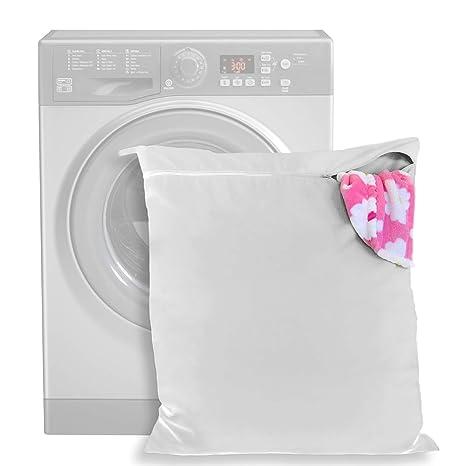 Bolsa de Lavandería Mascotas – mantenga su lavadora libre de pelo - cremallera y asa -