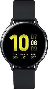 ساعة اكتيف 2 من سامسونج جالكسي، 44 ملم المنيوم، اسود مائي - SM-R820NZKAKSA