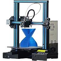 GEEETECH A10 Impresora 3D de Aluminio Montaje rápido Prusa I3 Kit DIY con un volumen de impression de 220×220×260mm, Recuperación de la falla de energía, Placa de control OPEN SOURCE GT2560 …