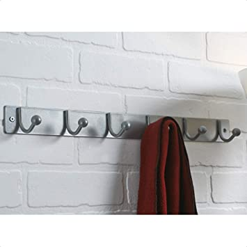 Amazon Com Utility Wall Mounted Coat Rack Furniture Decor