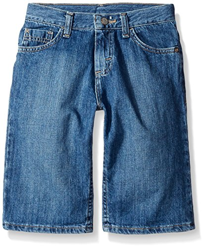 Wrangler Authentics Big Boys' Classic Denim Short, Coastal Wash, 18 Husky (Boys Denim Jean Shorts)