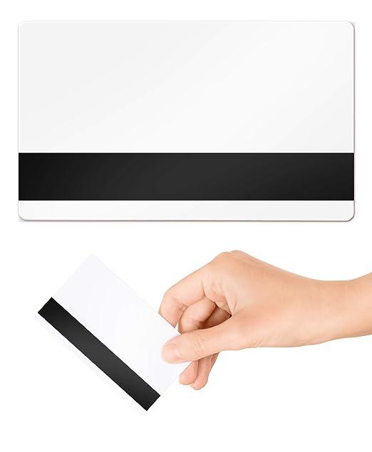 Hi-Co 2750oe Mag Stripe - Tarjetas de plástico PVC, 10 unidades ...