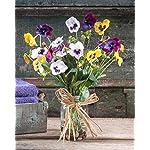 Pansy-Pastime-Silk-Flower-Arrangement
