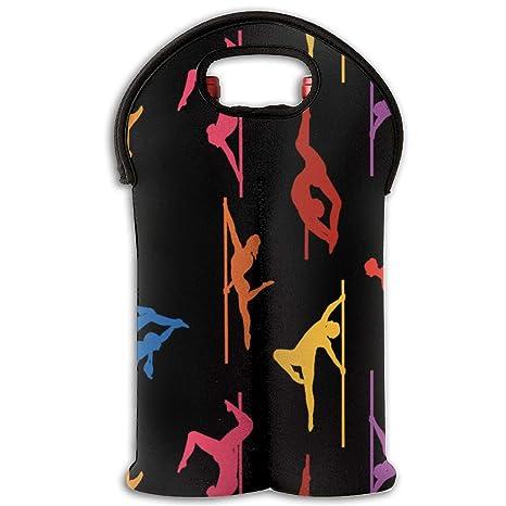 Bolsas de botellas de vino Bolsas de colores de pole dance ...