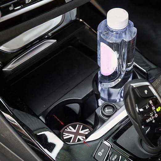 Beler 3stk Union Jack Auto Anti Rutsch Becher Matte Cupholder Mat Auto
