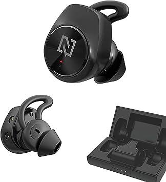 Auriculares Bluetooth TWS 5.0 negros para smartphone celulares NEWTOP AB18: Amazon.es: Electrónica