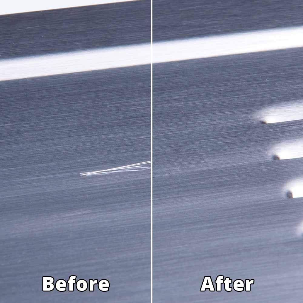 Rejuvenate Stainless Steel Scratch Eraser Kit Safely Removes Scratches Gouges Rust Discolored Areas Makes Stainless Steel Look 6 Piece Kit