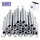 "PARTYSAVING 20pc 7"" Trampoline Spring Galvanized Steel Replacement Free T-hook"