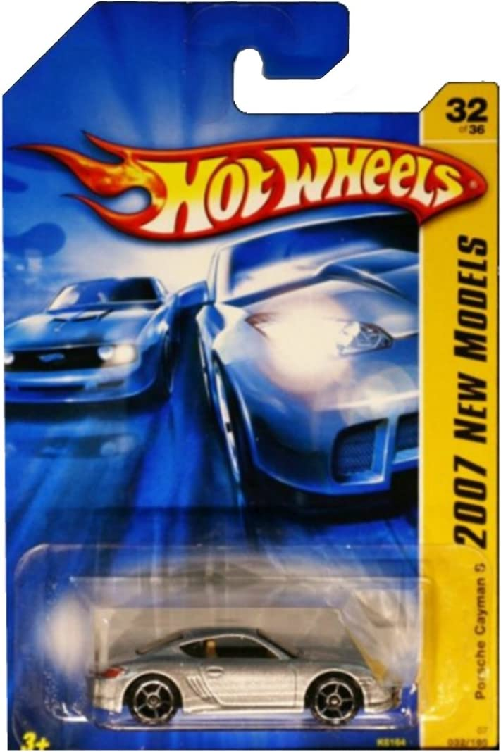 Cayman S Porsche Hot Wheels 2007 New Models Series Silver Porsche Cayman S 1:64 Scale Collectible Die Cast Car No.32
