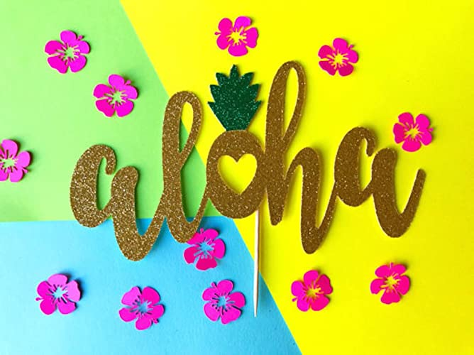 Amazon Aloha Cake Topper Hawaiian Cake Topper Hawaiian