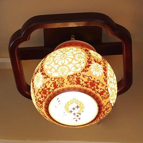 luces del pasillo lámparas de cerámica luces del pasillo ...