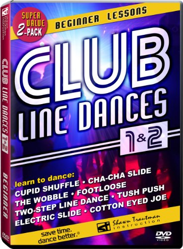 Club Line Dances 1 & 2: Beginner Lessons