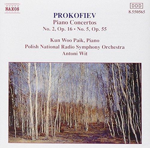Price comparison product image Prokofiev: Piano Concertos, No. 2 in G minor, Op. 16 / No. 5 in G, Op. 55 (2006-08-01)