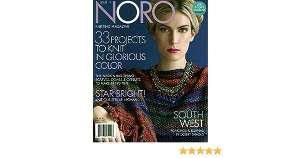 Noro Knitting Magazine Issue 11 Fall//Winter 2017