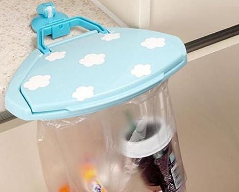 Amazon.com: leoy88 Cute plástico basura Bolsa titular y ...
