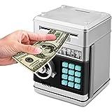 KOBWA Cartoon electrónica dinero Banco, contraseña Piggy Banco Efectivo Moneda puede, juguete regalos regalos…