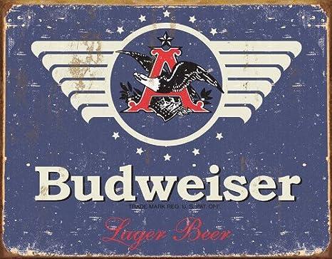 Froy Budweiser 1936 Pared Cartel de Chapa Retro Hierro ...