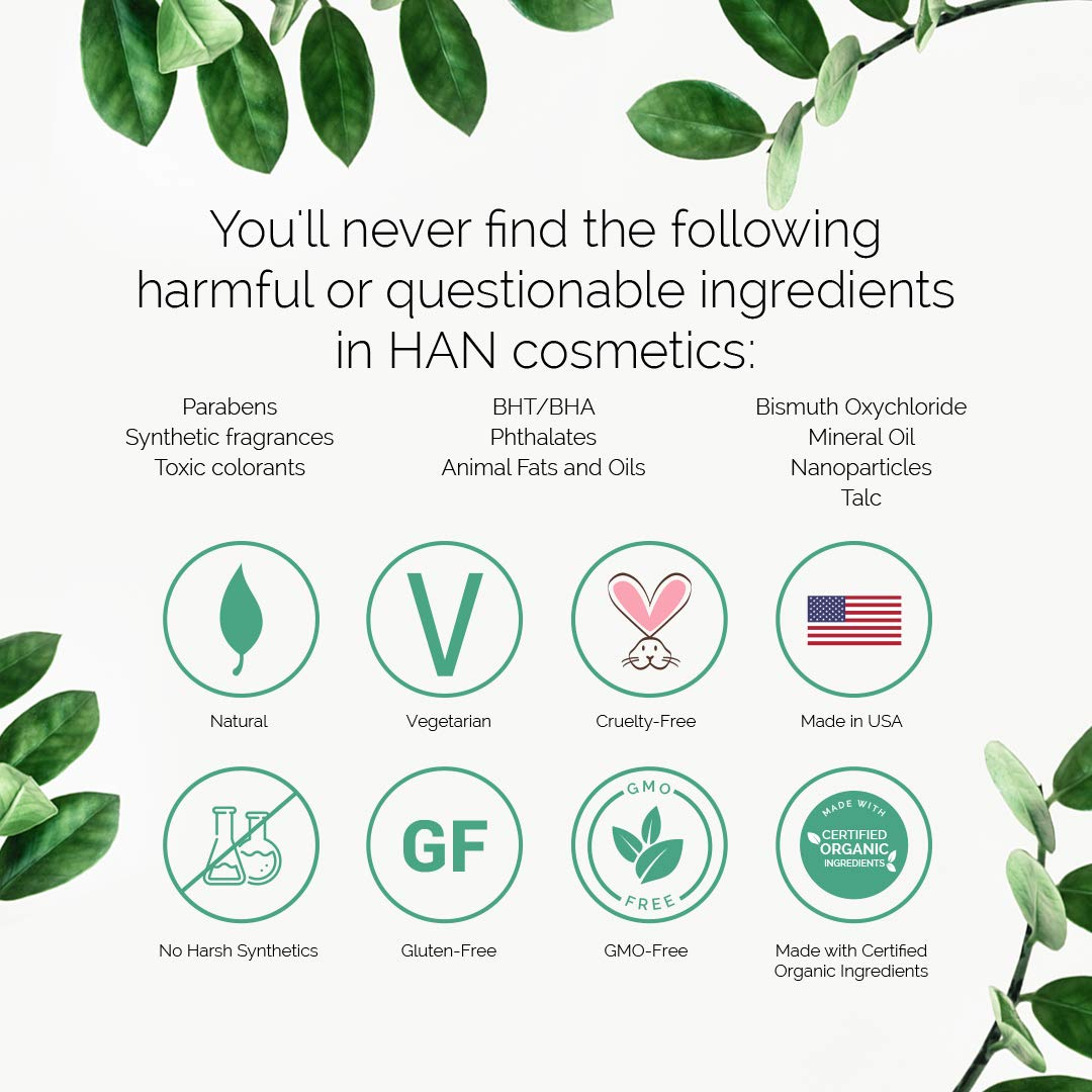 HAN Skin Care Cosmetics Natural Cheek and Lip Tint, Rose Berry by HAN (Image #3)