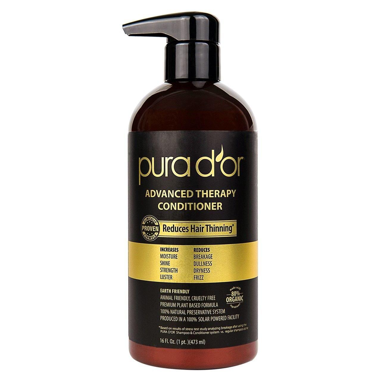 pura d'or Advanced Therapy Conditioner 24 FL. OZ.