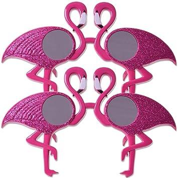 TE-Trend 2 Piezas Flamingo Máscara Gafas Gafas de Sol ...