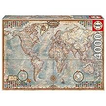 John N. Hansen 4000 Piece Puzzle-The World Map