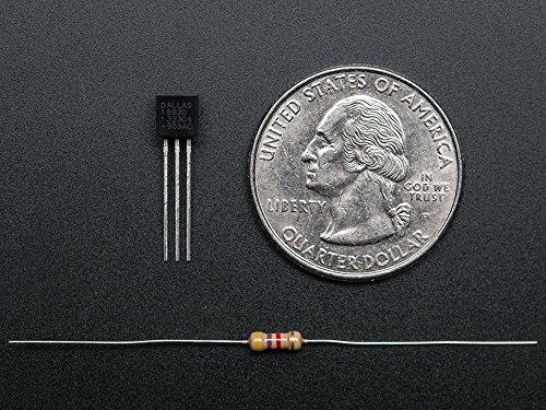 Adafruit DS18B20 Digital temperature sensor + extras [ADA374
